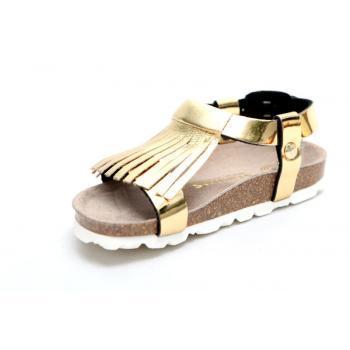 Genuins Afis złote sandałki...