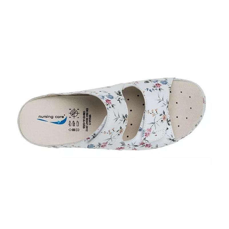 3ee48268b0551 Nursing Care obuwie Wash'Go Viena Flowers