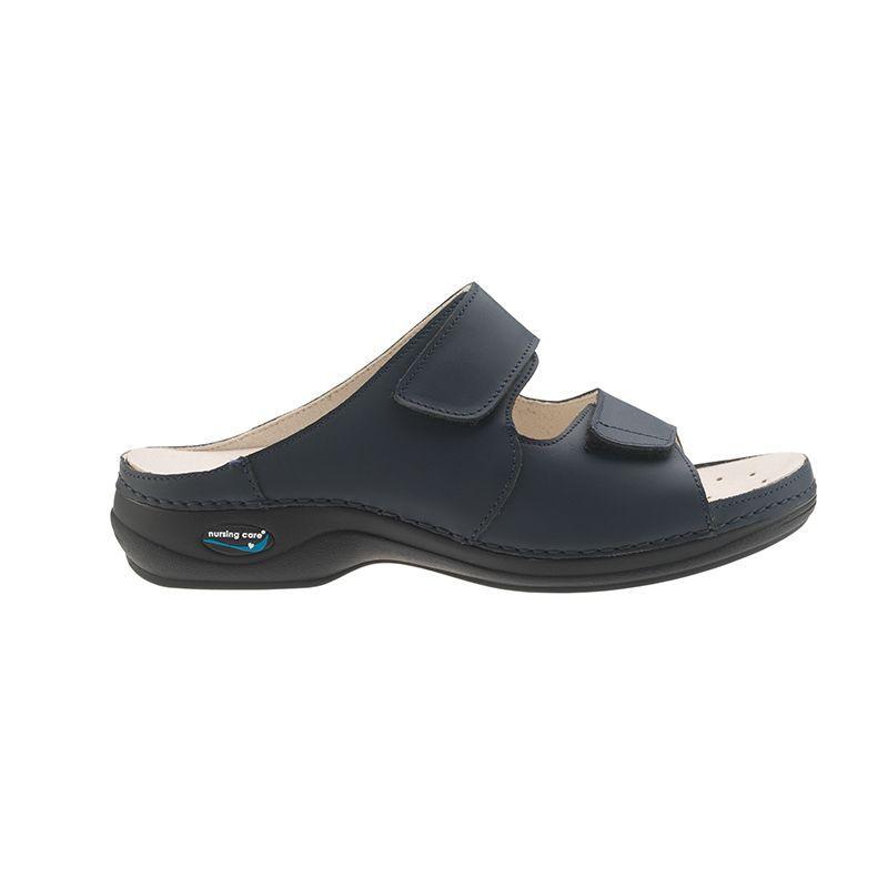 d83b2e3d3fd75 Wash'Go Viena Dark Blue skórzane obuwie do prania