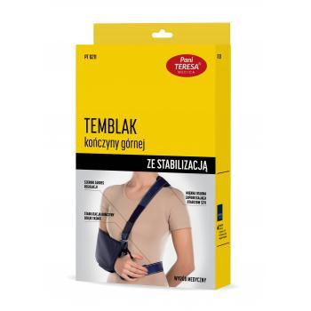 Pani Teresa Temblak z taśmą...